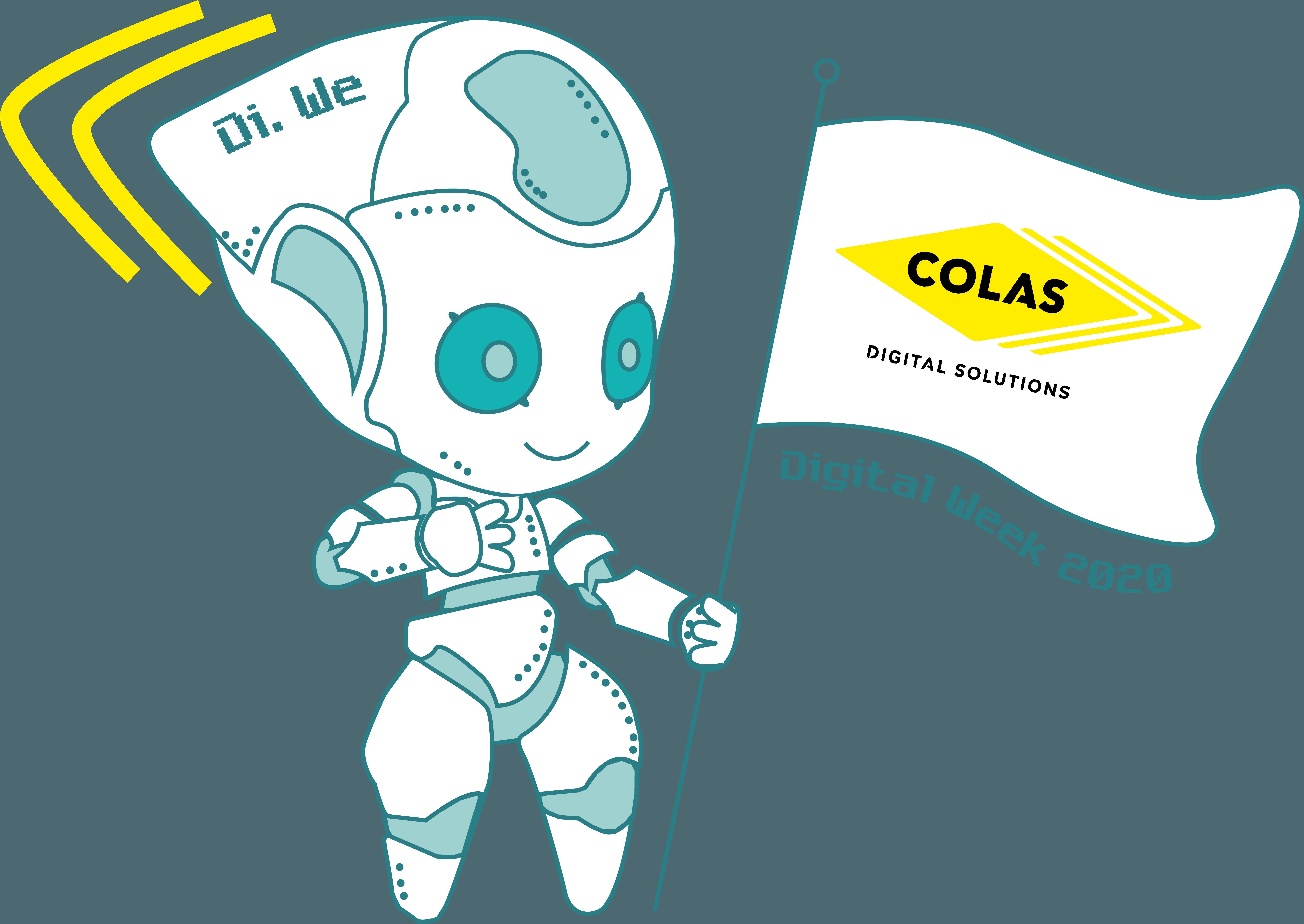 Mascotte Digital Week